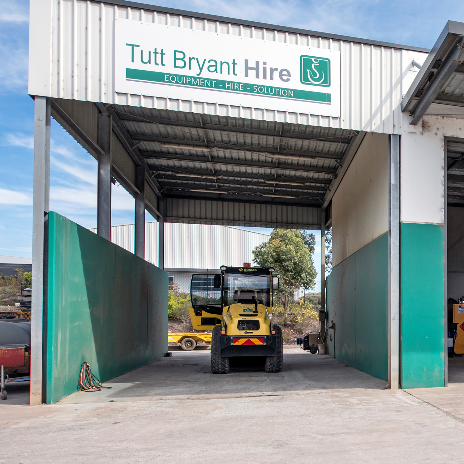 A Tutt Bryant Hire location
