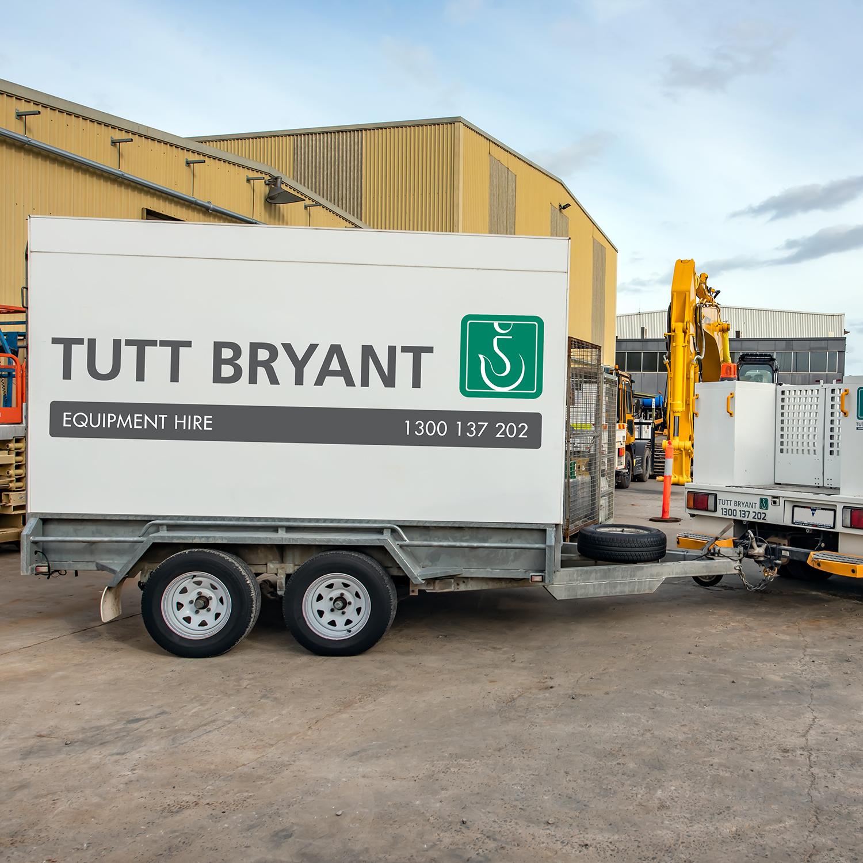 Tutt Bryant Hire trailer